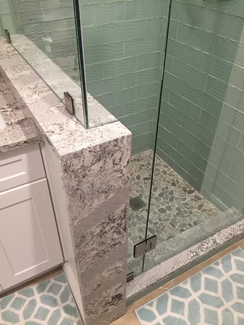 10 New Design inc custom bathroom wood and subway tile Genesee county