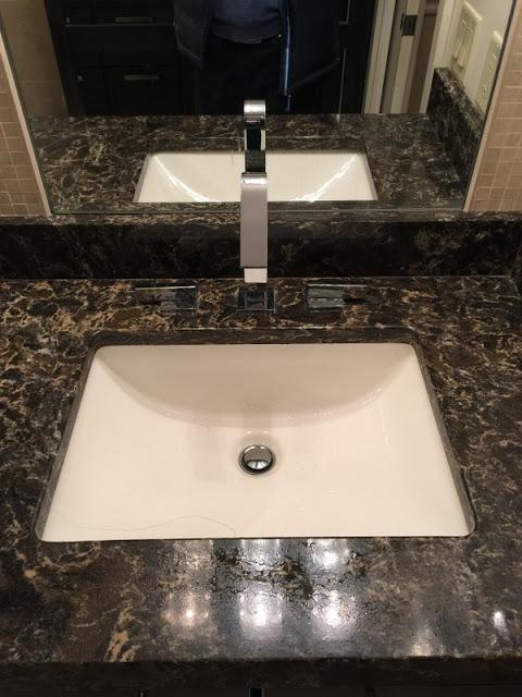 4 New Design Inc. Modern Espresso bathroom square sink