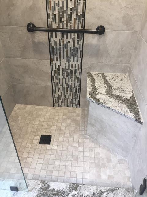 7 New Design Inc Bathroom Remodel Genesee County Michigan Custom Tile Shower