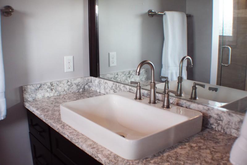 3 Espresso Shaker Cambria Kohler Bathroom Michigan Remodel (2)